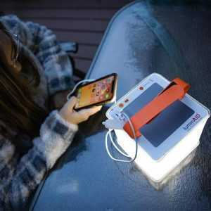 Solar packlite with power bank