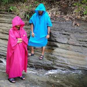 Waterproof 3 in 1 Rain Ponchos for Hiking Trekking and Outdoor Activities