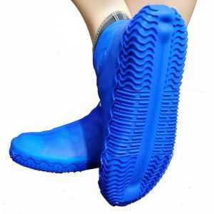 Reusable Waterproof Silicone Shoe Protectors for Rainy Days Multicolor